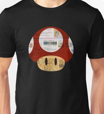 Super Mushroom Japanese Unisex T-Shirt