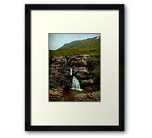 scottish waterfall Framed Print