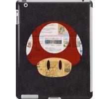 Super Mushroom Japanese iPad Case/Skin