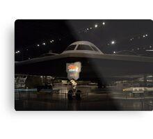 "Northrop  B-2  ""Spirit""   Long Range Stealth Bomber Metal Print"