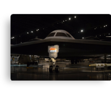 "Northrop  B-2  ""Spirit""   Long Range Stealth Bomber Canvas Print"