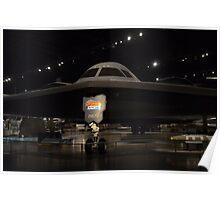 """Northrop  B-2  """"Spirit""""   Long Range Stealth Bomber Poster"""