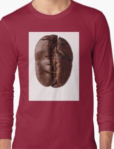 Food: roasted coffee bean, isolated on white background Long Sleeve T-Shirt