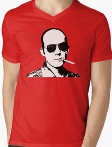 Hunter S Thompson - Smoking Mens V-Neck T-Shirt