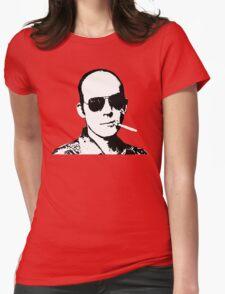 Hunter S Thompson - Smoking Womens Fitted T-Shirt