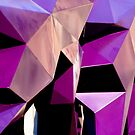 Geometrically Purple by Hena Tayeb
