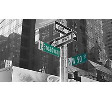 This Way To Broadway Photographic Print