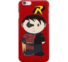 Robin/Tim Drake Half 'n Half Mini Folk iPhone Case/Skin