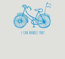 Hipster bicycle - blue Unisex T-Shirt