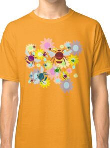 Bees & Flowers Classic T-Shirt