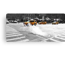 New York Taxi's Canvas Print