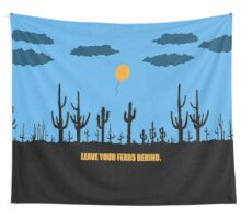 Leave Your Fears Behind - Corporate Start-Up Quotes Wall Tapestry