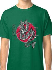 Japanese Water Dragon Classic T-Shirt
