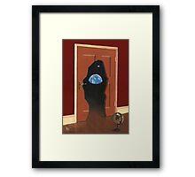 Beyond Magritte's Door Framed Print
