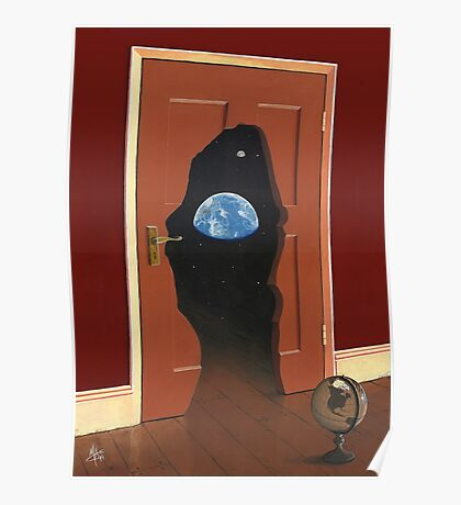 Beyond Magritte's Door Poster