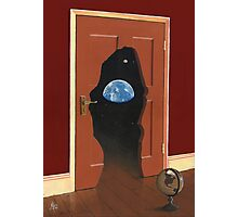 Beyond Magritte's Door Photographic Print