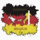 Mario Goetze goal during the final match by ilmagatPSCS2