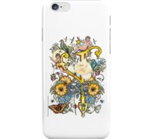"The Illustrated Alphabet Capital  Y  ""Getting personal"" iPhone Case/Skin"