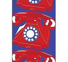 Classic British Telephone Photographic Print