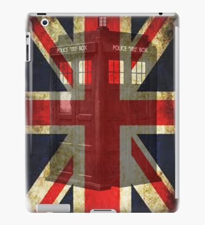 Union Tardis iPad Case/Skin