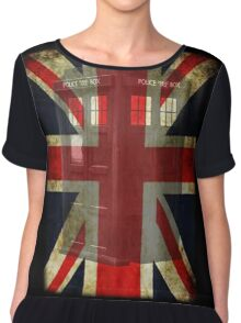 Union Tardis Chiffon Top