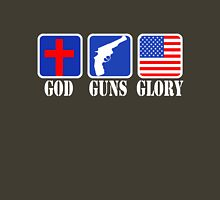 GOD GUNS GLORY Unisex T-Shirt