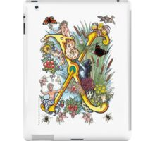 "The Illustrated Alphabet Capital  X  ""Getting personal"" iPad Case/Skin"