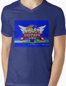 Sonic The Hedgehog 2 Mens V-Neck T-Shirt