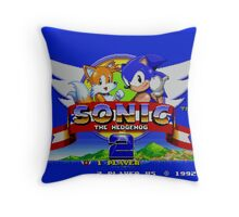 Sonic The Hedgehog 2 Throw Pillow