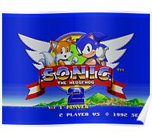 Sonic The Hedgehog 2 Poster