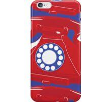 Classic British Telephone iPhone Case/Skin