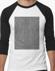 op art Men's Baseball ¾ T-Shirt