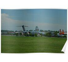 Flight Line Cargo Planes 2 Poster