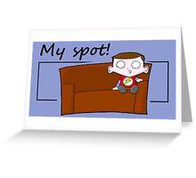 My Spot Greeting Card