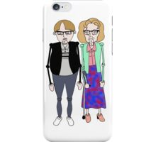 Maureen and David Sourbutts Psychoville inspired design iPhone Case/Skin