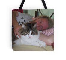 Jimmy Balls Tote Bag