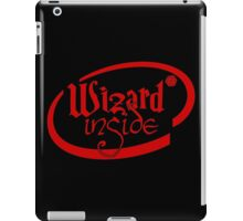 Wizard Inside iPad Case/Skin