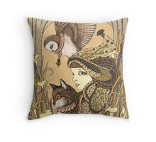 Harmony - 3 Of Charms Throw Pillow