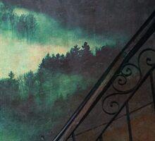 Forest Staircase Sticker