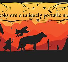 Books are a uniquely portable magic by Serena Masonde