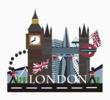 London City One Piece - Long Sleeve