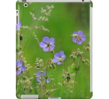 Meadow cranes-bill meadow iPad Case/Skin