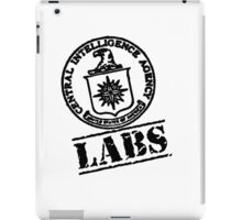 CIA Laboratories iPad Case/Skin