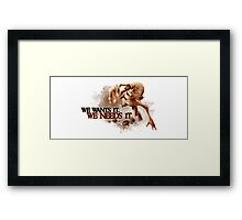 My precious...coffee Framed Print
