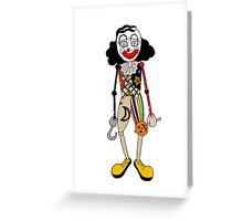 Mr Jelly Psychoville inspired design Greeting Card
