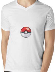 Pokeball Pokemon GO Mens V-Neck T-Shirt