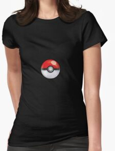 Pokeball Pokemon GO Womens Fitted T-Shirt