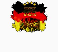 Germany Team Four Stars WorldCup 2014 Unisex T-Shirt