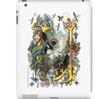 "The Illustrated Alphabet Capital  U  ""Getting personal"" iPad Case/Skin"