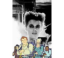 GHOSTBUSTERS (MOVIE VS REAL) Photographic Print